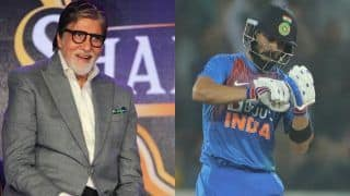Praising Virat Kohli, Amitabh Bachchan Recreates His Famous Dialogue From Amar Akbar Anthony